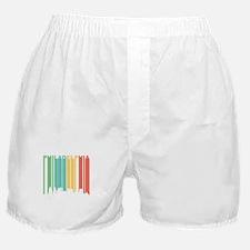 Vintage Philadelphia Cityscape Boxer Shorts