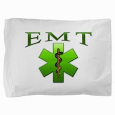 green_emt.png Pillow Sham