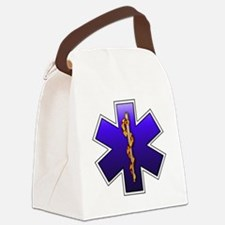 star_of_life.png Canvas Lunch Bag