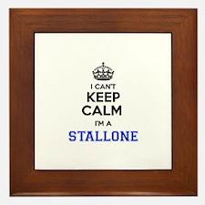 I can't keep calm Im STALLONE Framed Tile