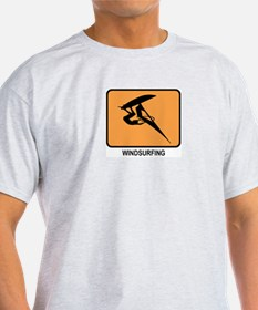 Windsurfing (orange) T-Shirt
