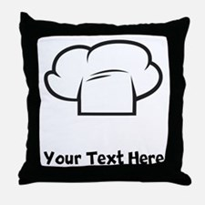 Chef Hat Throw Pillow