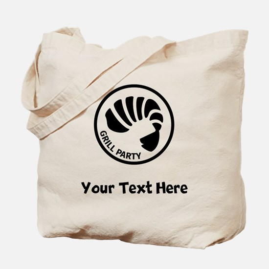 Shrimp Grill Party Tote Bag