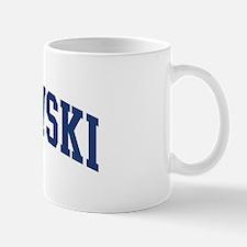 OLSZEWSKI design (blue) Mug