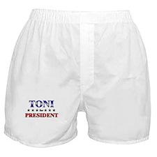 TONI for president Boxer Shorts