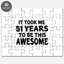 51 Years To Be This Awesom Puzzle