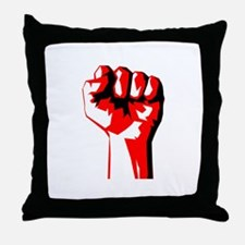 Power Fist Throw Pillow