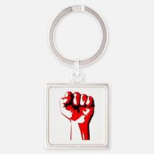 Power Fist Keychains