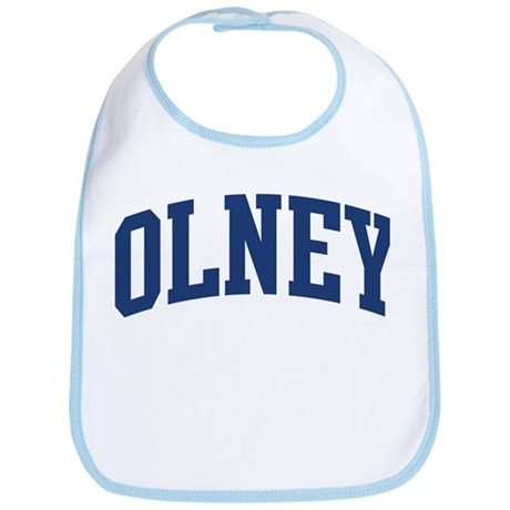 OLNEY design (blue) Bib