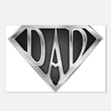 Chrome Super Dad Postcards (Package of 8)