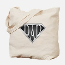 Chrome Super Dad Tote Bag