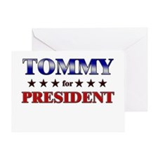 TOMMY for president Greeting Card