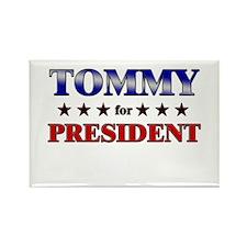 TOMMY for president Rectangle Magnet