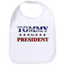 TOMMY for president Bib