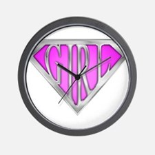 spr_girl2_pnk.png Wall Clock