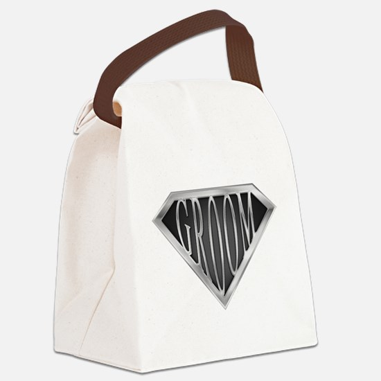 spr_groom_cx.png Canvas Lunch Bag