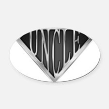 spr_uncle_chrm.png Oval Car Magnet