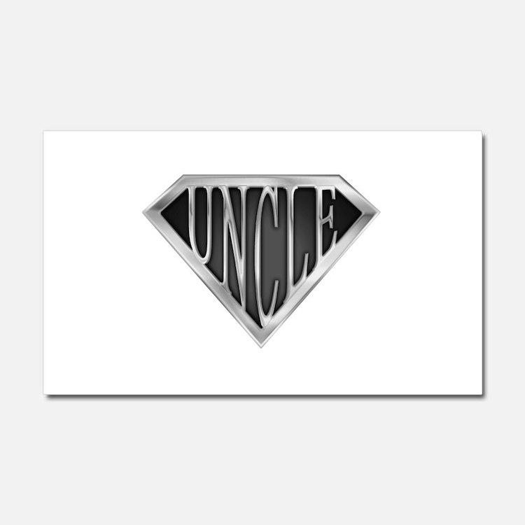 spr_uncle_chrm.png Car Magnet 20 x 12