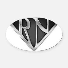 spr_rn3_chrm.png Oval Car Magnet