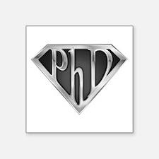 "spr_phd2_chrm.png Square Sticker 3"" x 3"""