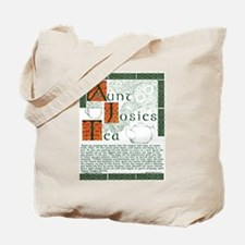 Aunt Josie's Tea instructions Irish Tote Bag