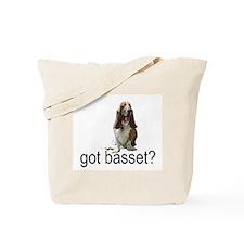got basset? Tote Bag - Tri-color