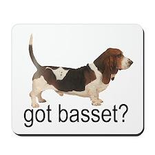 got basset? Mousepad - Tri-color