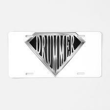 spr_drummer_chrm.png Aluminum License Plate