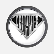 spr_drummer_chrm.png Wall Clock