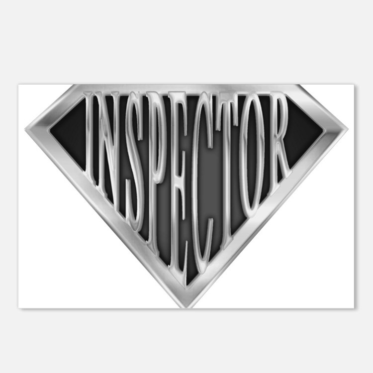 spr_inspector_chrm.png Postcards (Package of 8)