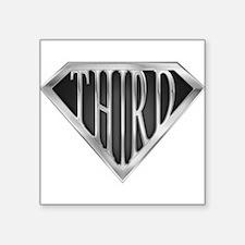 "spr_third_chrm.png Square Sticker 3"" x 3"""