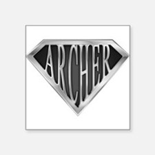 "spr_archer_chrm.png Square Sticker 3"" x 3"""