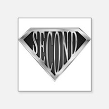 """spr_second_chrm.png Square Sticker 3"""" x 3"""""""