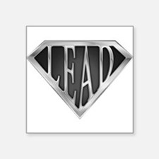 """spr_lead_chrm.png Square Sticker 3"""" x 3"""""""