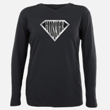 spr_husker_chrm.png Plus Size Long Sleeve Tee