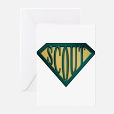 spr_scout2_gs2.png Greeting Cards (Pk of 10)