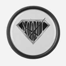 spr_scout2_chrm.png Large Wall Clock
