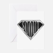 spr_scout2_chrm.png Greeting Cards (Pk of 10)