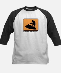 Personal Watercraft (orange) Tee