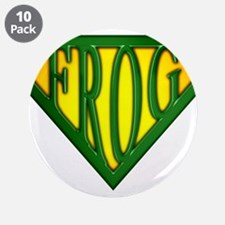 """spr_frog_g.png 3.5"""" Button (10 pack)"""