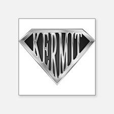 "spr_kermit_chrm.png Square Sticker 3"" x 3"""