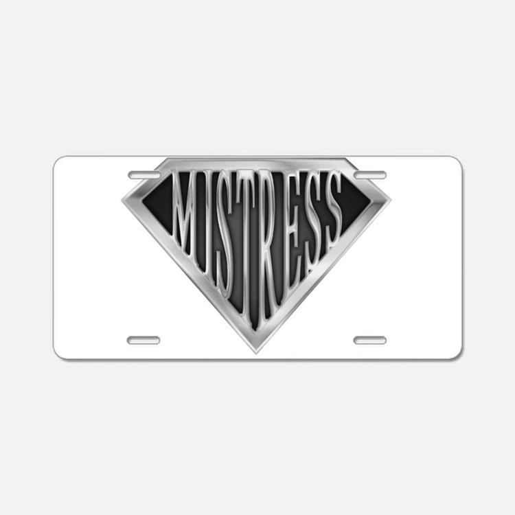 spr_mistress_chrm.png Aluminum License Plate