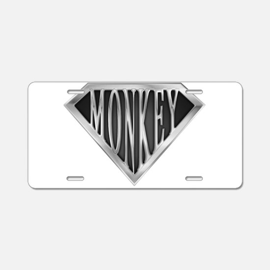 spr_monkey_chrm.png Aluminum License Plate