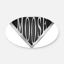 spr_moose_chrm.png Oval Car Magnet