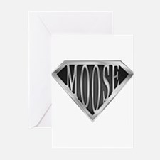 spr_moose_chrm.png Greeting Cards (Pk of 10)