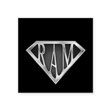 "spr_ram_cx.png Square Sticker 3"" x 3"""