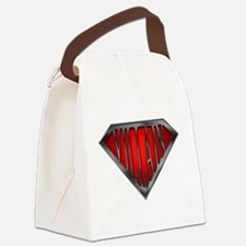 spr_villain_blk.png Canvas Lunch Bag