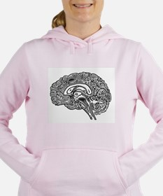 Cool Brain Women's Hooded Sweatshirt