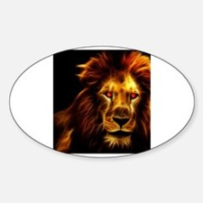 Cute Lion king broadway Sticker (Oval)