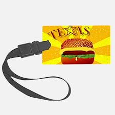 Cute Texas food Luggage Tag